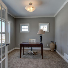 Traditional Home Office by R. Fleming Construction
