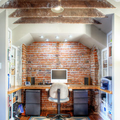 eclectic home office by Kenny Grono
