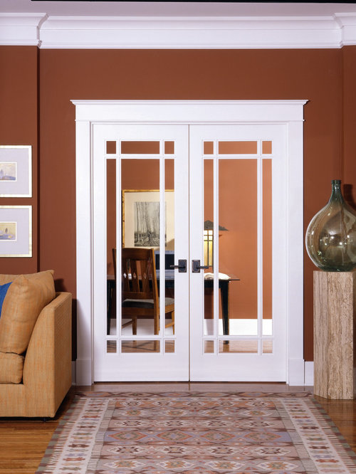 Decorative glass interior doors for Interior glass french doors