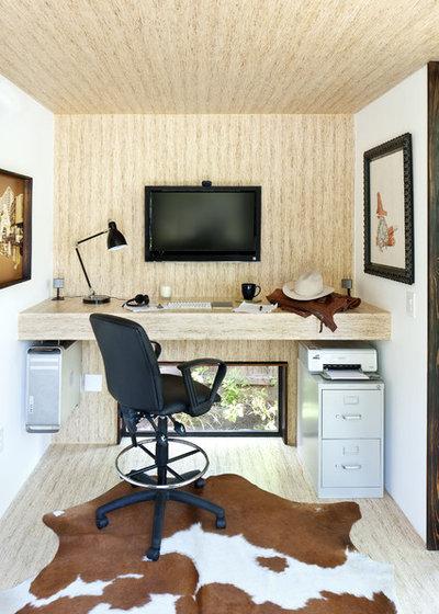 Moderne Bureau à domicile by Sett Studio