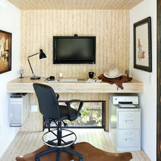 Modern Home Office by Sett Studio