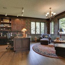 Traditional Home Office by The Barkleys Edina Realty