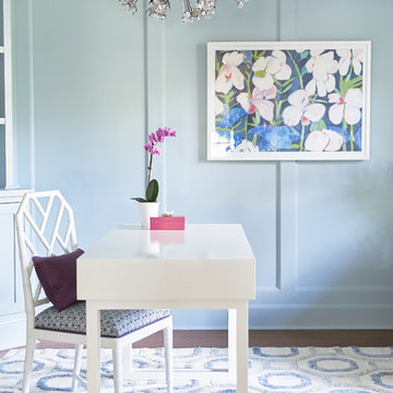 A Bright New Jersey Home Office
