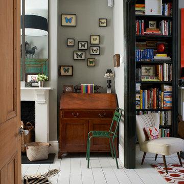 A colourful London home