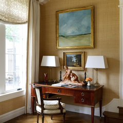 traditional home office by Sroka Design, Inc.