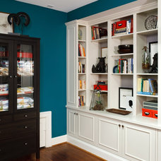 Contemporary Home Office by Wentworth, Inc.