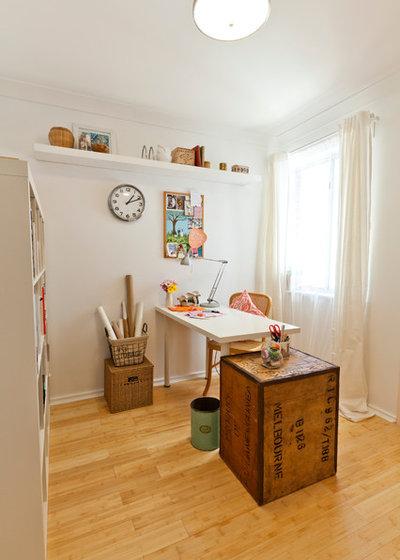 Éclectique Bureau à domicile by House Nerd