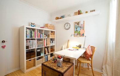 Vorher-Nachher: Rumpelkammer wird zum kreativen Hobbyraum