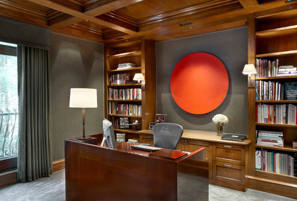 Traditional Home Office by Scott Himmel, Architect P.C.