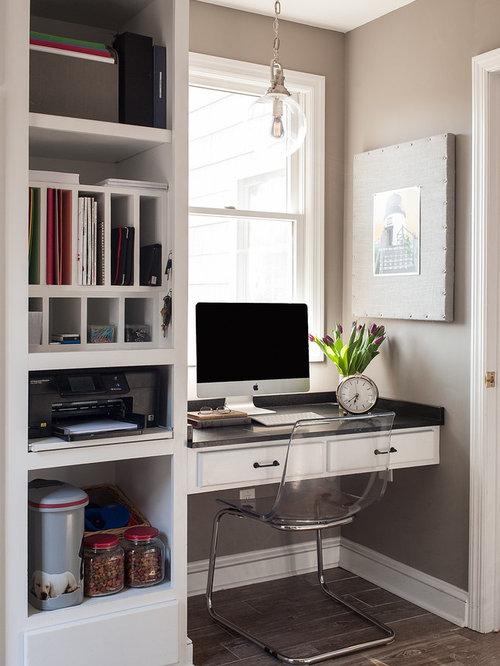 Klassische arbeitszimmer mit keramikboden ideen design - Wandfarbe arbeitszimmer ...