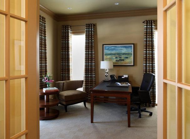 Traditional Home Office by Sroka Design, Inc.