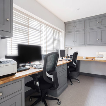 A Practical & Beautiful Organised Home Office By Burlanes