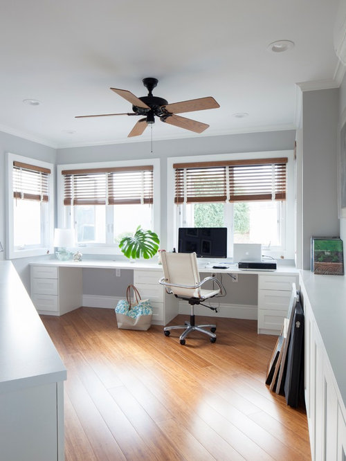 Kolonialstil arbeitszimmer ideen f r ihr home office design houzz - Arbeitszimmer design ...