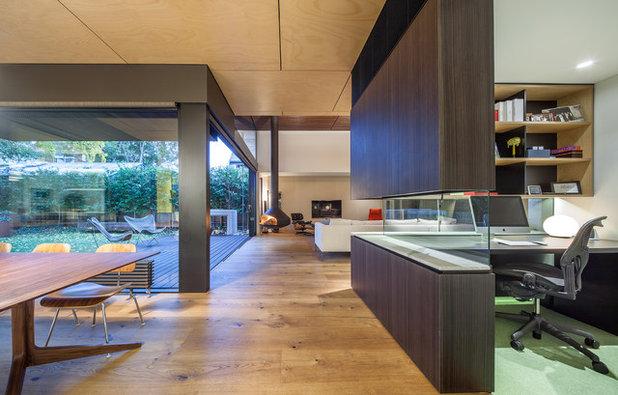 Contemporary Home Office by Mafi Australia