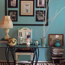 Eclectic Home Office by Sarah Ames
