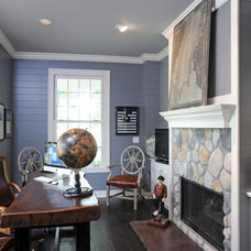 Traditional Home Office by Dave Fox Design Build Remodelers