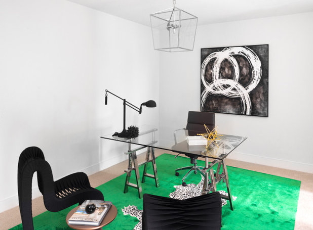 Contemporary Home Office by Monarch & Maker