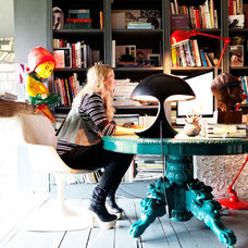 Eclectic Home Office by Todd Selby