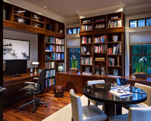 Home office den houzz for Home den