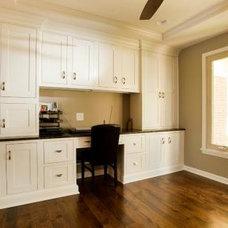 Craftsman Home Office by Case Design/Remodeling Halifax