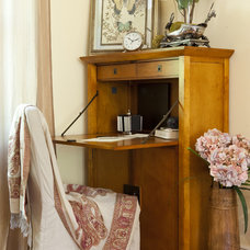 Eclectic Home Office Office Nook
