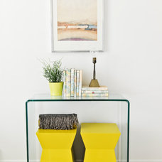 Eclectic Home Office by A Good Chick To Know