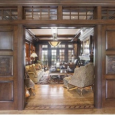 Traditional Home Office by Sater Design Collection, Inc.