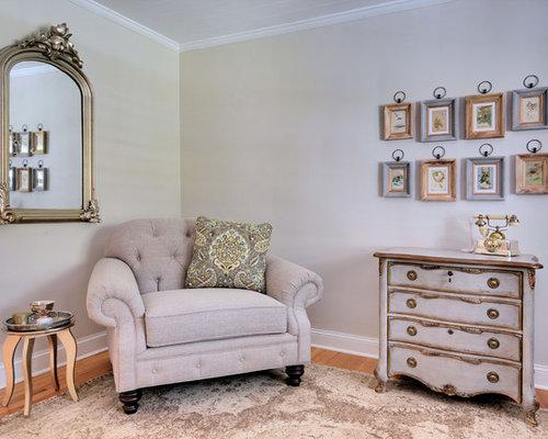 bureau romantique de taille moyenne photos et id es d co. Black Bedroom Furniture Sets. Home Design Ideas