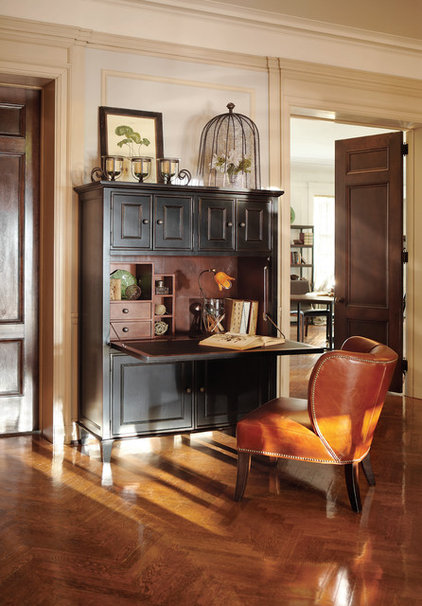 Traditional Home Office by Arhaus