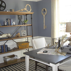 Eclectic Home Office by Laura Manning Bendik