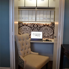 Traditional Home Office by Modern Antiquity, LLC