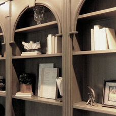 Traditional Home Office by Ca'Shae Interiors