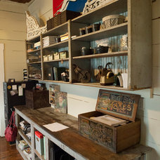 Rustic Home Office by Living Vintage