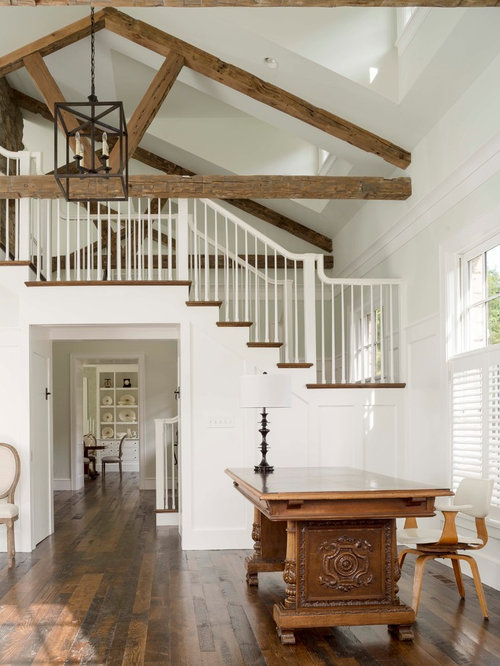 Farmhouse foyer ideas, pictures, remodel and decor