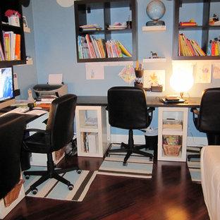 Home office - modern home office idea in Jacksonville
