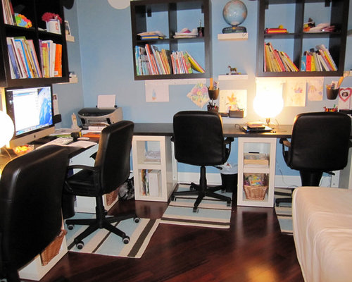 whole house remodel home office homeschool room