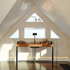 Contemporary Home Office by LOCZIdesign
