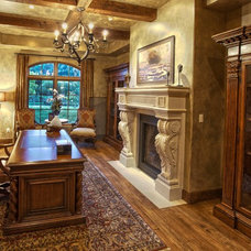 Mediterranean Home Office by Coldwell Banker Previews International