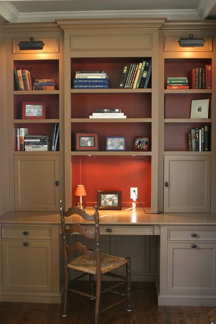 Traditional Home Office by Howell Custom Building Group