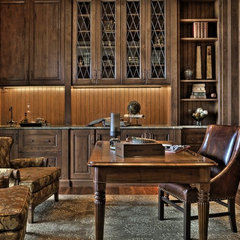 traditional home office by Andrea Braund Home Staging & Design