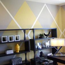 Modern Home Office by Anita Roll Murals