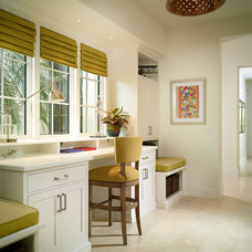 Tropical Home Office by London Bay Homes