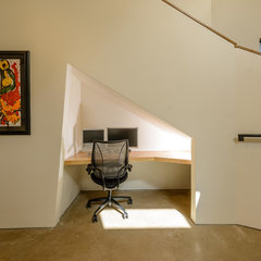 modern home office by Tom Hurt Architecture