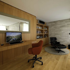 Contemporary Home Office by Paker Architecture