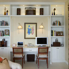 Asian Home Office by Charlotte Dunagan Design Group