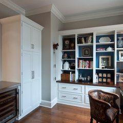 traditional home office by Kitchens Unlimited- Karen Kassen, CMKBD