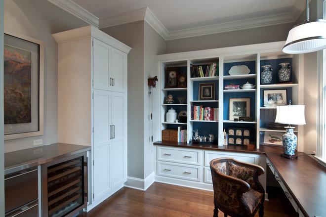 Traditional Home Office by Kitchens Unlimited- Karen Kassen, CMKBD