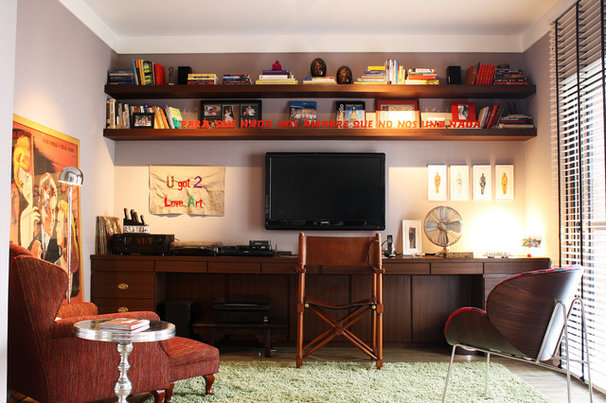 Contemporary Home Office by Eunice Fernandes