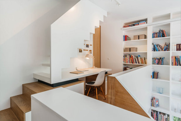 Contemporary Home Office by CNCPT A