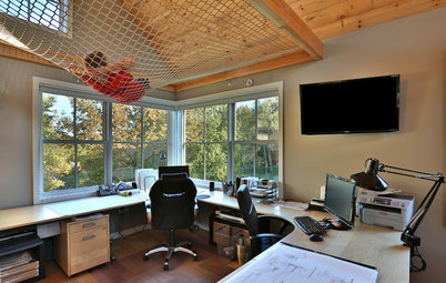 See Why This Architect's Office Has a Built-In Safety Net